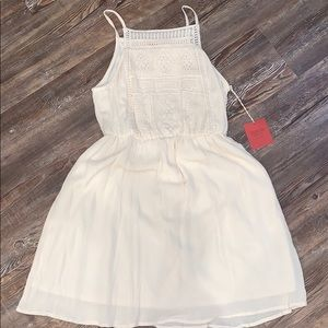 Mossimo cream sundress